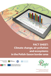 Title FACT SHEET: Climate change, air pollution and ecosystems in the Polish-Saxon border area
