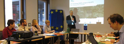 2nd Meeting of the project team in the Ministry of the Interior in Dresden, photo: Susann Schwarzak
